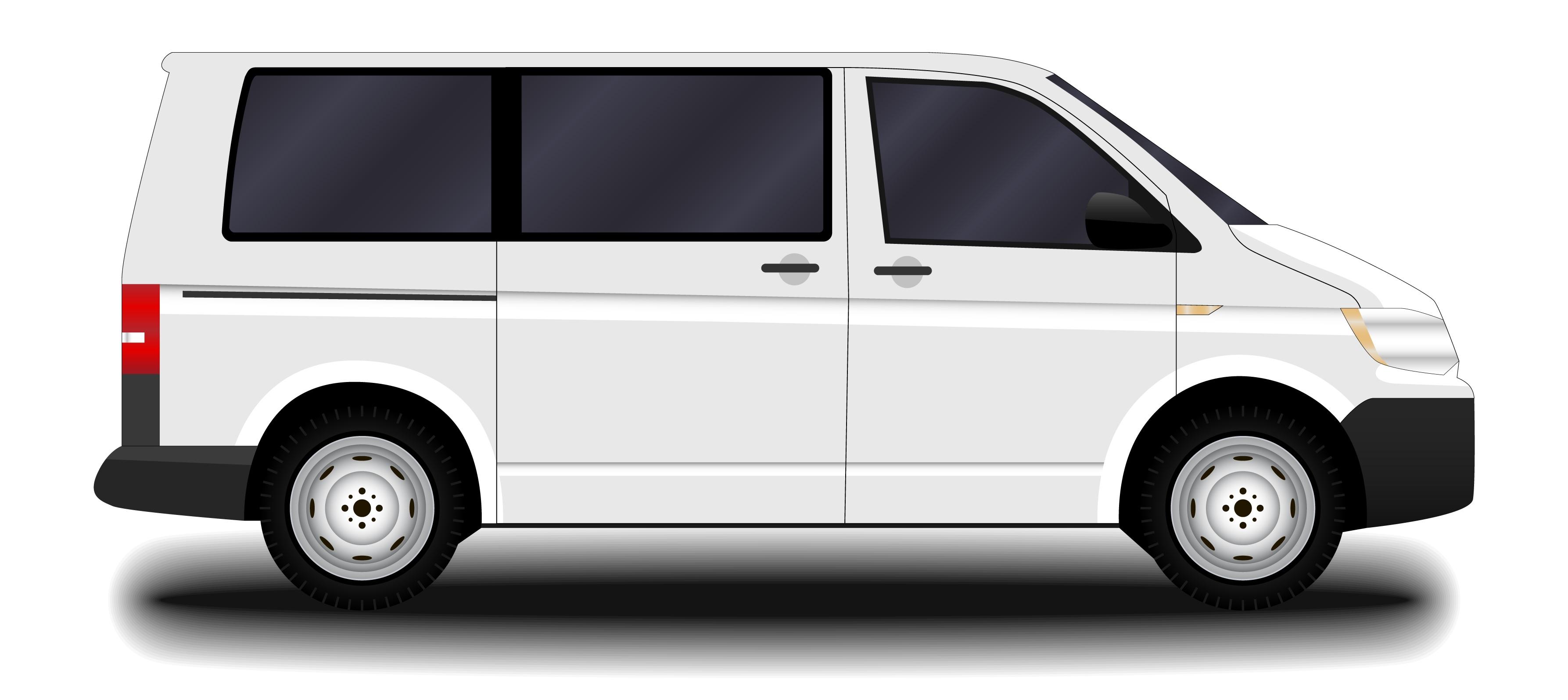 Kleinbusse mit 8 Sitzplätzen